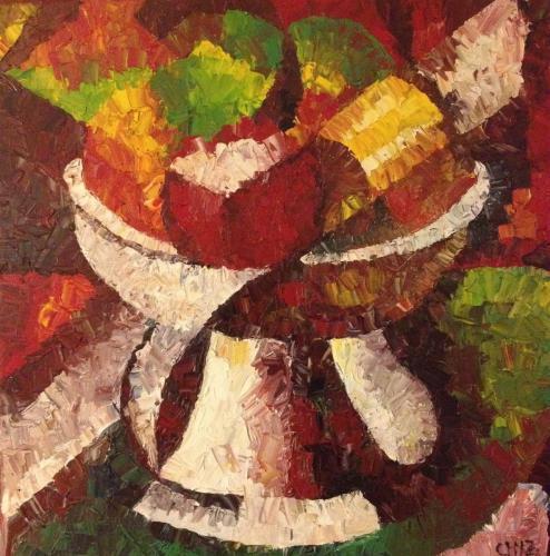 Picasso's Fruit Bowl